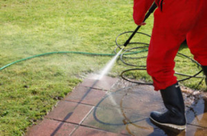 tile and grout pressure washing